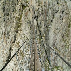 Triftgletscher-oude-brug
